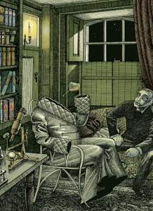 Illustration from the Folio Society edition of \